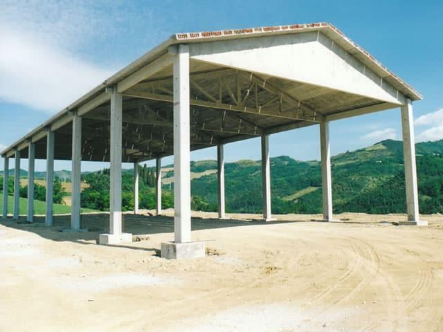 Capannoni prefabbricati agricoltura soluzione for Capannoni in legno prezzi